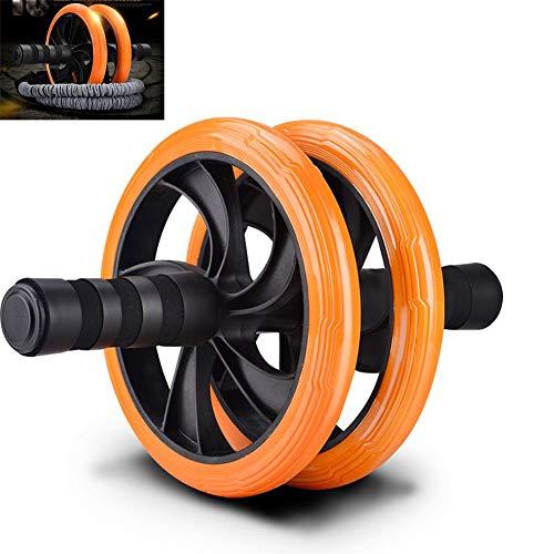 LTLGHY AB Roller Bauchtrainer Mit AD Sicherheitselastisches Seil - 2 Rad Bauchmuskeltrainer Für Starke Schultern/Arme/Rücken/Bauchmuskeln