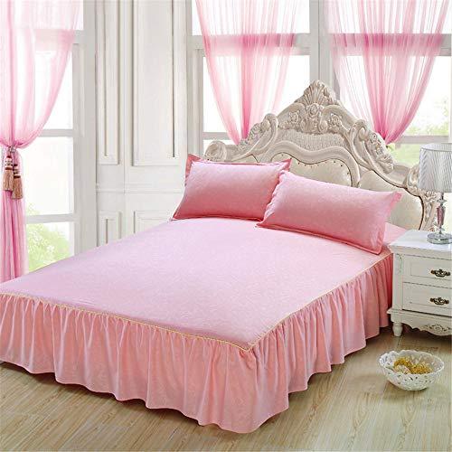 huyiming lente en herfst Koreaanse versie van het bed schuren bed rok bed bed bed bed bed student slaapzaal eenpersoonsbed
