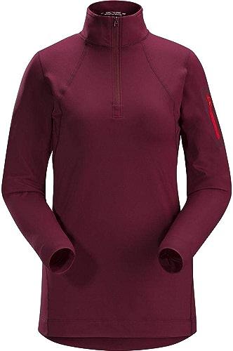Arc'teryx Rho LT - T-Shirt Manches Longues Femme - Rouge 2019 t Shirt Manches Longues