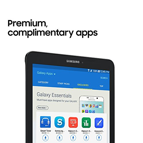 Samsung Galaxy Tab E 9.6; 16 GB Wifi Tablet (Black) SM-T560NZKUXAR