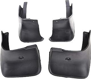 Fornateu Barro Guardabarros Trasero Flaps Frente del Coche de plástico ABS Splash Protector de reemplazo para Corolla 2007-2013