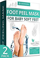 For men & women with a shoe size up to 11. Can be used for dead skin, cracked heels and callouses. Includes Lavender and papaya extracts. Can be used on all types of skin. Made with natural ingredients.