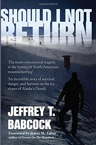 Book: Should I Not Return by Jeffrey Babcock