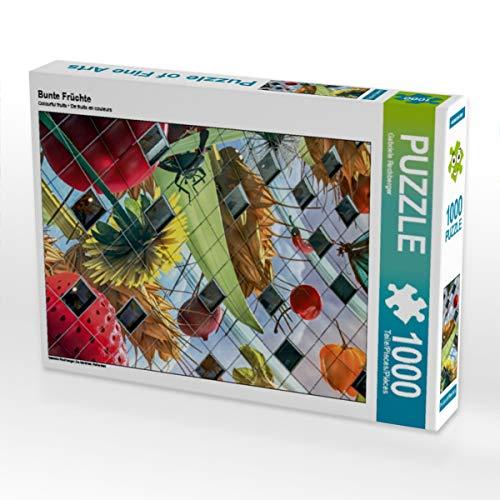 CALVENDO Puzzle Bunte Früchte 1000 Teile Lege-Größe 48 x 64 cm Foto-Puzzle Bild von Gabriele Rechberger