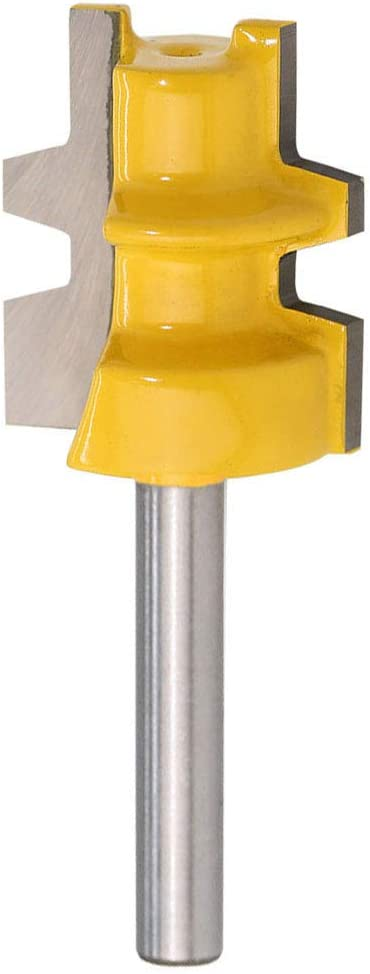 Yakamoz 1 4-Inch Shank Reversible Glue Bit with Finally resale start Router Joint 1-I Ranking TOP4