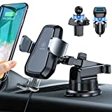VANMASS Wireless Car Charger Mount, Automatic Clamping Qi 10W 7.5W Fast Charging Car Mount, Dashboard Air Vent Phone Holder Compatible with iPhone 12 11 Pro Max Xs X 8, Samsung S20 S10 S9 Note10