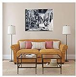 Vscdye Pablo Picasso et Les Meninas Art Toile peinture affiche Imprime peinture Art affiche Impression Sur toile-60x80 cm Sans Cadre