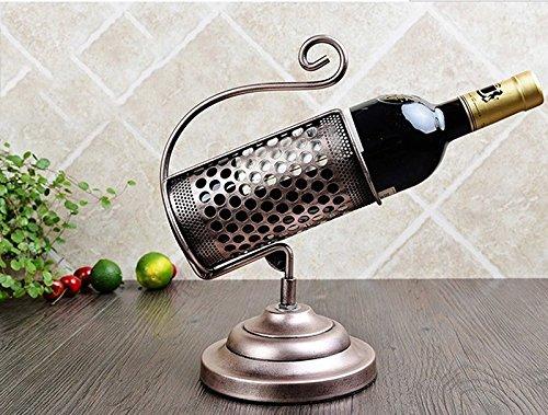 ZHDC® Boîte à bouteilles de vin rouge Multifonctions (Couleur : #2)