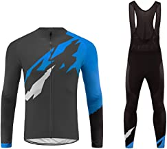 Uglyfrog Sports Wear Mens Mountain Bike Long Sleeve Cycling Jersey Winter Warm Bike Tshirt Great Gift for Bicycle