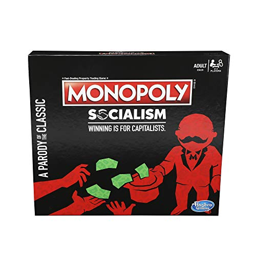 Monopoly Socialism Board Game Parody Adult Party Game JungleDealsBlog.com