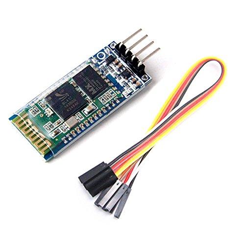 ARCELI HC-06 Wireless-4 Pin Modulo seriale ricetrasmettitore RF Bluetooth 4 cavi set per Arduino