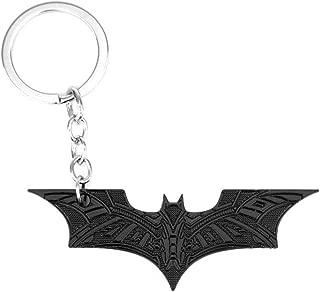 OK-STORE Zinc Alloy Metal Bat Simbol Mask Shape Dart Keychain
