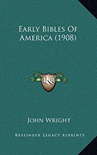 Early Bibles of America (1908)