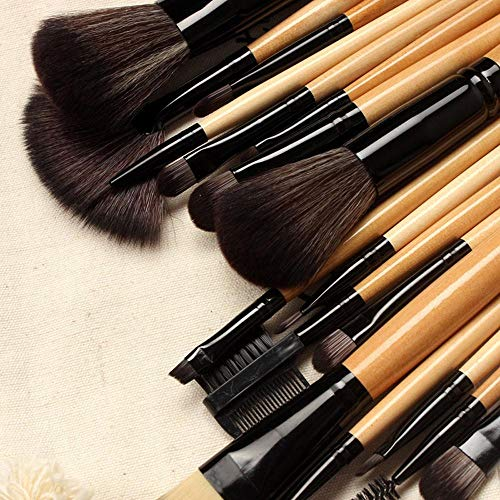 MEIYY Pinceau de maquillage New Fashion Professional 18 Pcs Makeup Brushes Set Makeup Brushes Tools With Drawstring Bag