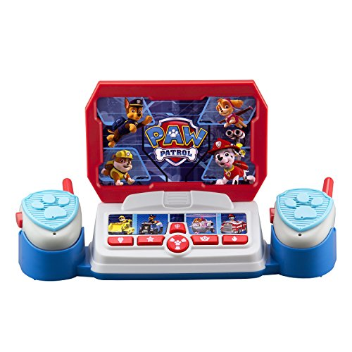 Paw Patrol Toy Walkie Talkie Command Center with Kid Friendly Two Way Radios, Built-in Speech & Sound Effects, Designed for Fans of Paw Patrol Toys for Boys and Girls