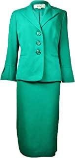 Women's Country Club Solid Skirt Suit