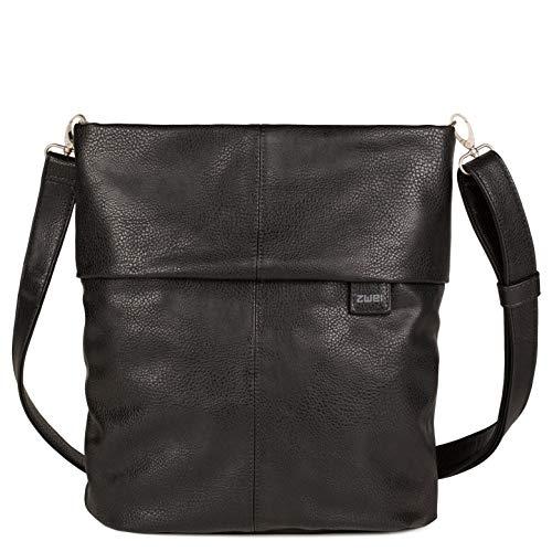 Zwei Mademoiselle M12 Handtasche, Breite ca. 31 cm, Höhe ca. 34 cm, Tiefe ca. 11 cm, Noir (Schwarz)
