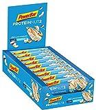PowerBar Protein Nut2 White Chocolate Coconut 18x(2x22,5g) - Barras de Proteína con Bajo Contenido de Azúcar