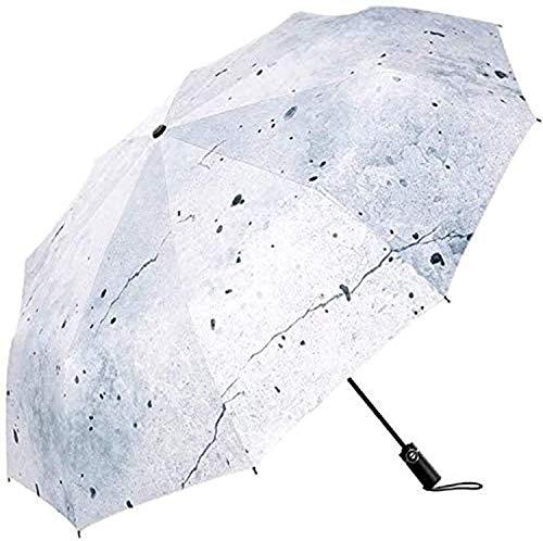 Paraguas portátil Paraguas plegable AUTOMÁTICO APROXIMADAMENTE APROXIMADAMIENTO POR LOS HOMBRIOS POR LOS HOMBROS DE LOS HOMBROS APROXIMADOS DE VIAJE DE VIAJE PULSO LIGHTE PROTECCIÓN UV ligera Paraguas