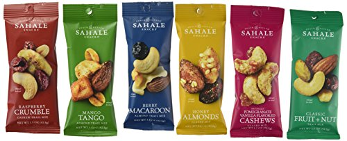 Sahale Snacks All Natural Nut Blends Grab & Go Variety Pack (1.5...