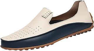 Mens Slip on Shoes, Sharemen Influx Men's Shoes Peas Shoes England Driving Shoes Lazy Shoes Casual Shoes