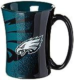NFL Philadelphia Eagles Mocha Mug, 14-ounce, Black