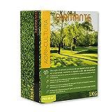 AGRI-CULTURA Diamante - Semi prato 1 Kg - Semi erba prato resistenti alla siccità ,adatti a tutti i terreni e luoghi [Ideale per tappeti erbosi sportivi ed ornamentali]