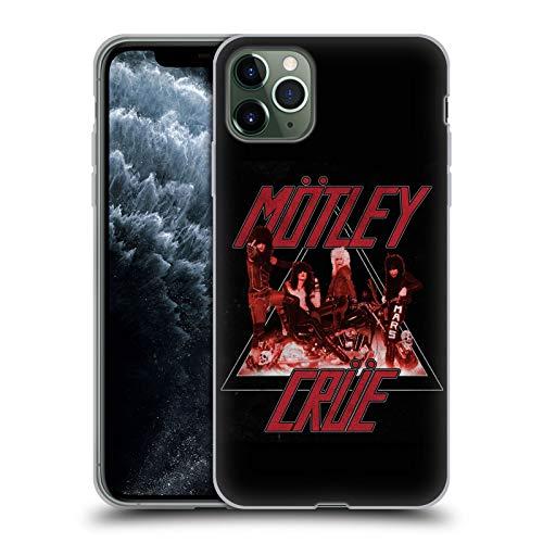 Head Case Designs Oficial Motley Crue Too Fast Key Art Carcasa de Gel de Silicona Compatible con Apple iPhone 11 Pro MAX