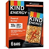 KIND Energy Bar Gluten Free Low Sugar Peanut Butter, 30...
