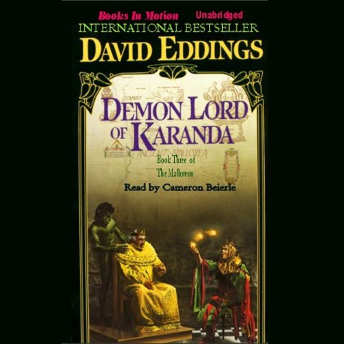 Demon Lord of Karanda audiobook cover art