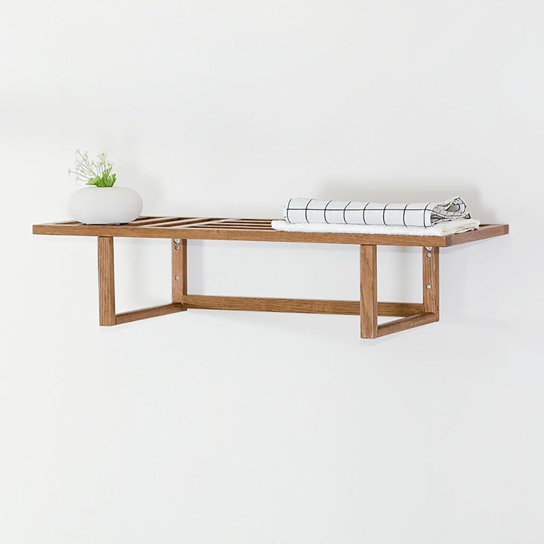 Shelf Fashion capital Multifunktions-Racks rot Oak Garderobe Wohnzimmer Wand-Badezimmer Handtuchhalter Kleiderbügel Kleiderbügel