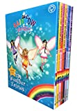 Rainbow Magic Weather Fairies Collection - 7 Books RRP £34.93 (8: Crystal the Snow Fairy; 9: Abigail the Breeze Fairy ; 10: Pearl the Cloud Fairy; 11: Goldie the Sunshine Fairy; 12: Evie the Mist Fairy; 13: Storm the Lightning Fairy; 14: Hayley the Rai