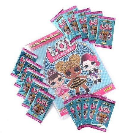 PANINI-LOL SURPRISE TRADING CARDS (ARCHIVADOR+28 SOBRES): Amazon.es: Juguetes y juegos