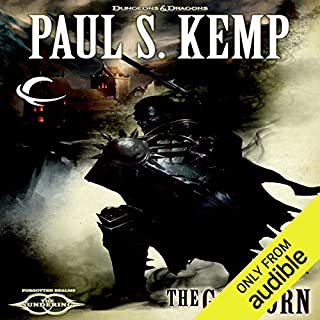 The Godborn     Forgotten Realms: The Sundering, Book II              By:                                                                                                                                 Paul S. Kemp                               Narrated by:                                                                                                                                 John Pruden                      Length: 14 hrs and 26 mins     508 ratings     Overall 4.2