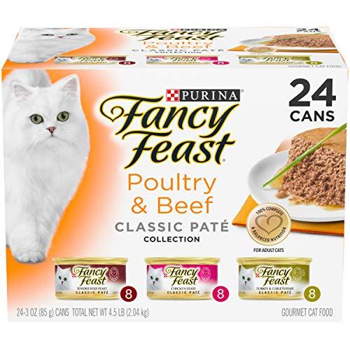 Fancy Feast Wet Cat Food Variety Pack