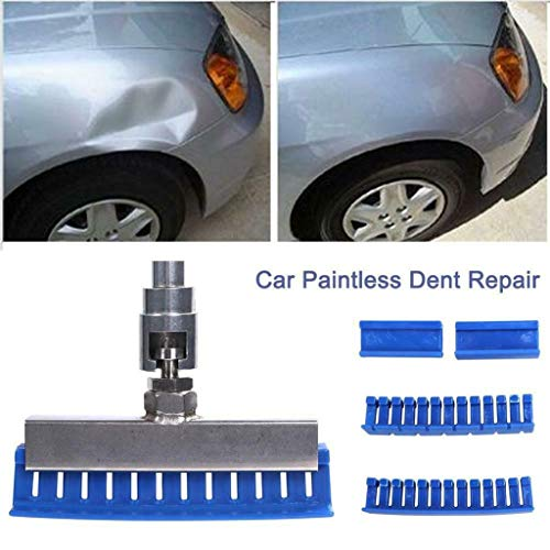 kashyk 6PCS Dellen Reparatur Ausbeulwerkzeug Lackfreies Set, Gleithammer Removal Ausbeulwerkzeug Dent für Fahrzeug Kühlschrank Waschanlage Dellen Entfernen