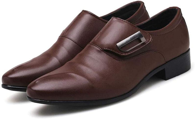 ZIXUAP Men's Dress shoes - Formal Lace Up Oxfords Cap Toe Balmoral shoes Black