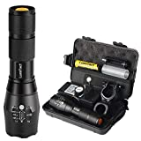 Lumitact G700 LED Taschenlampe, Extrem Hell 3000 Lumen CREE...