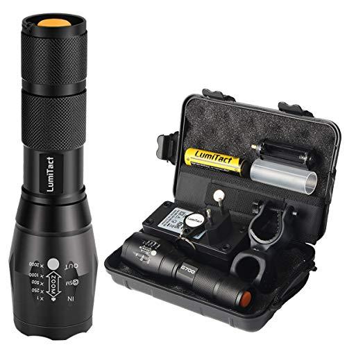 Hyper Tough 300-Lumen TASK LIGHTDEL CREE Lampe de poche solide en aluminium 2-AA Bat