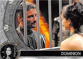 Adria Baal trading card Stargate SG1 2007#59 Morena Baccarin Cliff Simon