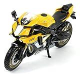 New Ray 57804 – 2016 1: 12 Moto Yamaha YZF-R1-Bleu, 57803 B, Jaune