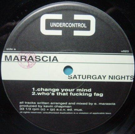 Marascia / Saturgay Night