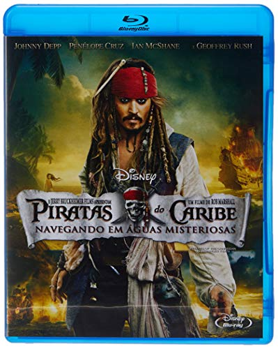 Piratas Do Caribe: Navegando Em Águas Misteriosas [Blu-ray]