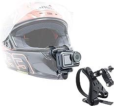 MEKNIC Motorcycle Helmet Chin Mount Compatible with GoPro Hero 8/7/(2018)/6/5 Black,4 Session, APMAN/AKASO/Campark/SJCAM/D...