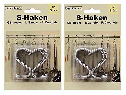 Best S-Haken 12 Küchenhaken 50mm ( 2er Set )