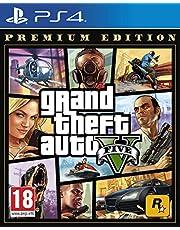 Grand Theft Auto V Premium Edition - [PlayStation 4][AT-Pegi] – wersja niemiecka
