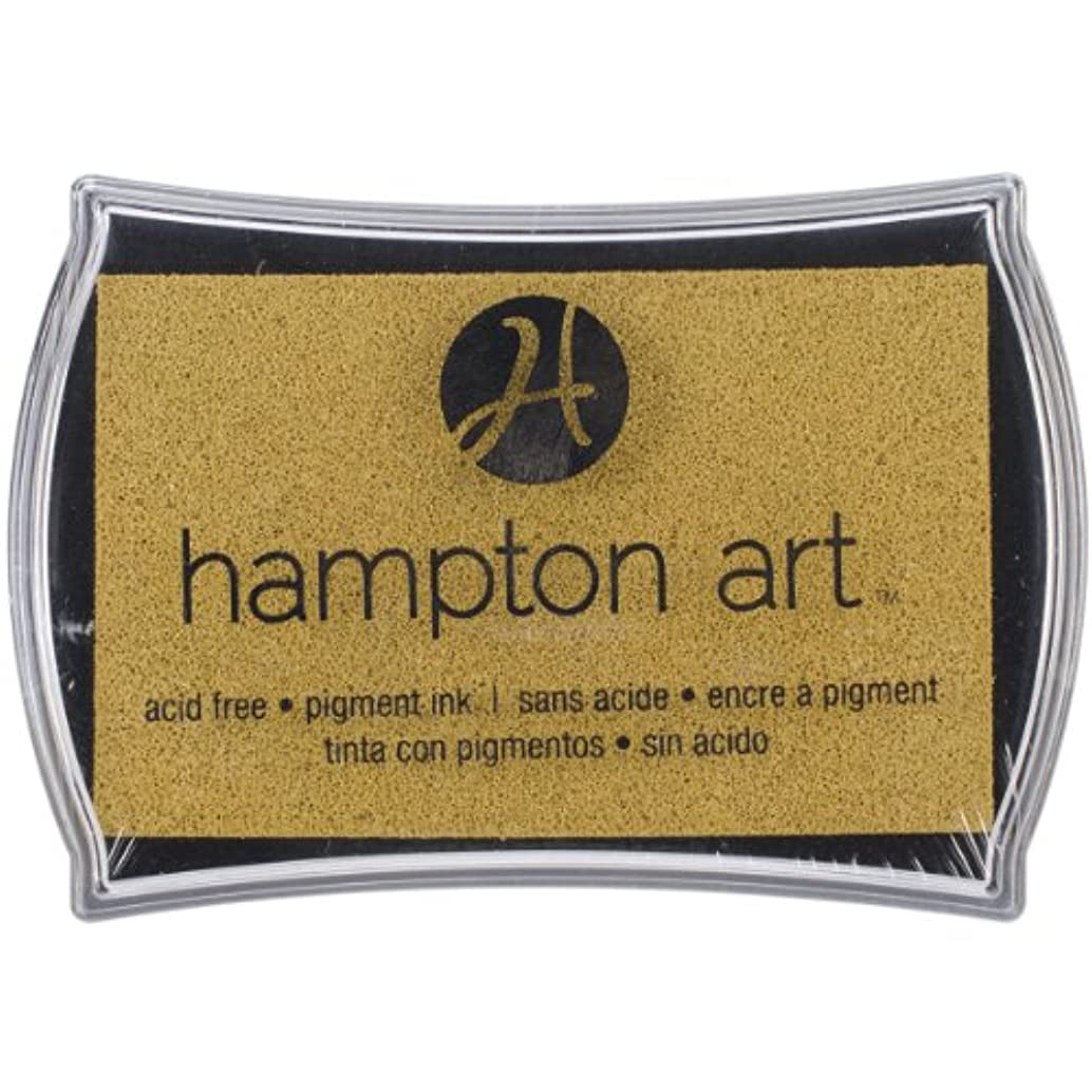 Hampton Art Gold Pigment Ink Pad