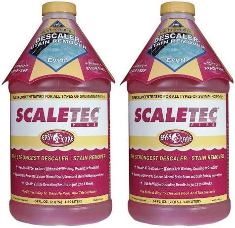 discount EasyCare outlet sale wholesale Scaletec Plus Descaler and Stain Remover 64 oz 20064 2 Pack, Brown (EC-20064-2PK) outlet online sale