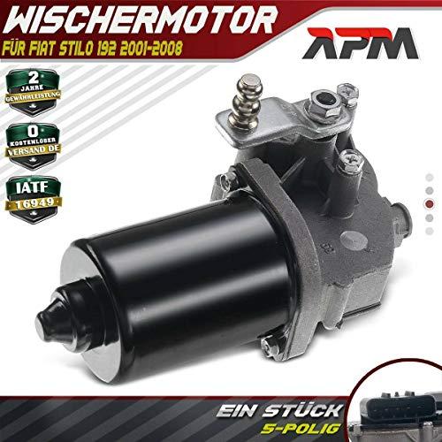 Wischermotor Scheibenwischermotor Vorne für Stilo Multi Wagon 192 I4 1.2L 1.4L 1.6L 1.8L 1.9L 2.4L 2001-2008 9949505