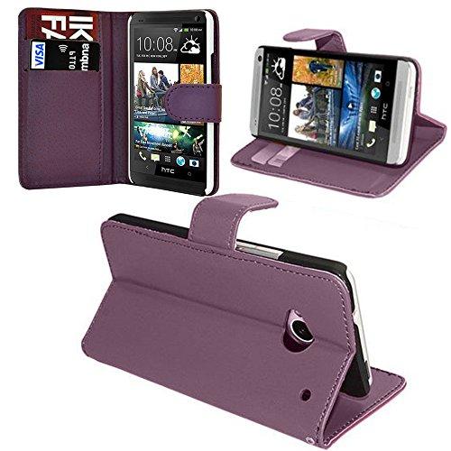 Annart Schutzhülle für HTC One Mini M4/601/601e/601n/601s – Violett